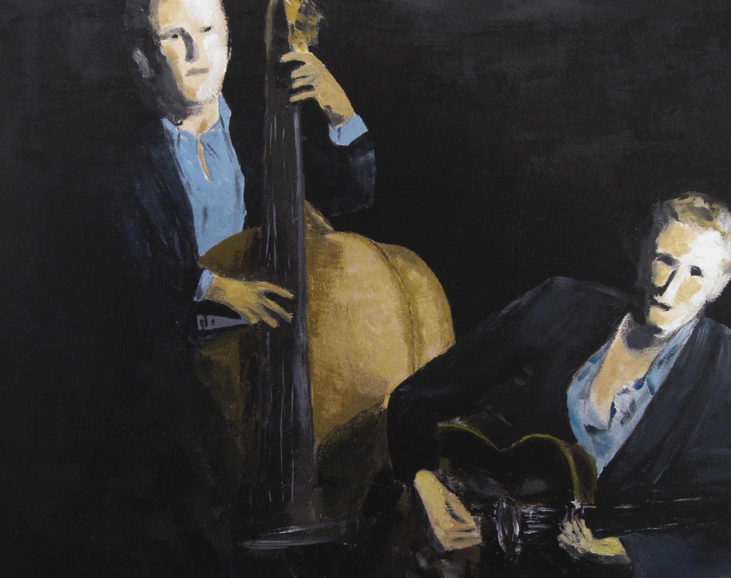 Muziek maken. Herman Rozing